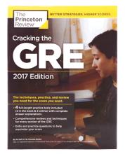 کتاب Cracking the GRE with 4 Practice Tests 2017+DVD