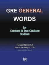 کتاب GRE General Words for Graduate & Post-Graduate Students