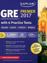 کتاب Kaplan GRE Premier 2017