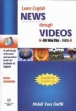 کتاب  Learn English NEWS Through VIDEOS