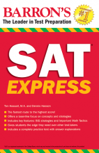 کتاب Barrons SAT Express