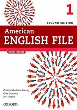 کتاب امریکن انگلیش فایل 1 ویرایش دوم American English File 1 2nd +WB+DVD