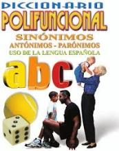 کتاب زبان Diccionario polifuncional - sinónimos, antónimos, parónimos