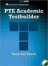 کتاب PTE Academic Testbuilder Student's Book + Audio CD