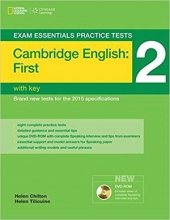 کتاب Exam Essentials Practice Tests First (FCE) 2+DVD