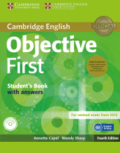 کتاب Objective first students books 4th Edition
