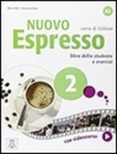 کتاب ایتالیایی اسپرسو Nuovo Espresso 2 (Italian Edition): Libro Studente A2+DVD
