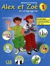 کتاب Alex et Zoe - Niveau 1 - Livre + Cahier d'activite