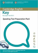 کتاب  Speaking Test Preparation Pack for Key English test