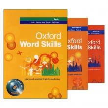 مجموعه 3 جلدی آکسفورد ورد اسکیلز Oxford Word Skills سايز كوچك