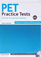 کتاب  PET Practice Tests+CD