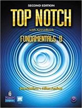 کتاب آموزشی تاپ ناچ فاندامنتال B ویرایش دوم Top Notch Fundamentals B +CD 2nd edition