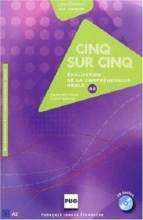 کتاب CINQ SUR CINQ, NIVEAU A2