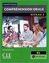 کتاب Compréhension orale niveau 3 - B2