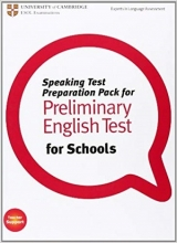 کتاب Speaking Test Preparation Pack for Preliminary English test for Schools