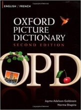 دیکشنری تصویری انگلیسی-فرانسوی Oxford Picture Dictionary English-French