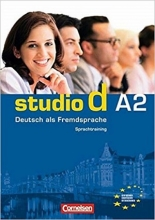 کتاب اشتودیو دی (Studio d: Sprachtraining A2 (SB+WB+DVD
