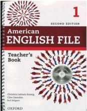 کتاب معلم امریکن انگلیش فایل 1 ویرایش دوم American English File 1 Teachers Book+CD 2nd Edition