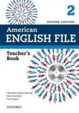 کتاب معلم امریکن انگلیش فایل ویرایش دوم  American English File 2 Teachers Book+CD 2nd Edition