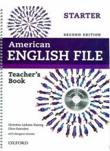 کتاب معلم امریکن انگلیش فایل استارتر American English File 2nd Teacher Book Starter