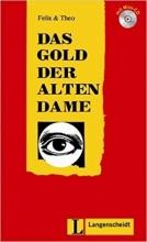کتاب (Das Gold der alten Dame (Stufe 2) - Buch mit Mini-CD (Felix & Theo