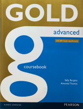 کتاب Gold Advanced Coursebook 2015