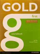کتاب Gold First Coursebook new edition 2015