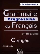 کتاب Grammaire progressive - perfectionnement + CD