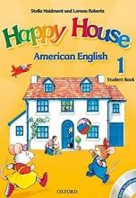 کتاب امریکن هپی هوس American Happy House 1 SB+WB+CD