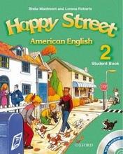 کتاب American Happy Street 2 SB+WB+CD