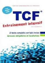 کتاب FLE • TCF • Entrainement intensif • avec fichiers audio