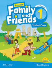 کتاب American Family and Friends 1 (2nd) SB+WB+CD