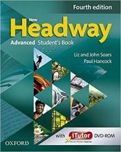 کتاب نیو هدوی ادونسد ویرایش چهارم New Headway 4th Advanced Student Book