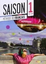 کتاب فرانسوی سزون Saison niveau 1 A1/A2 - livre de l'eleve + cahier + dvd