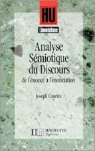 کتاب Analyse semiotique du discours