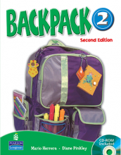 کتاب بک پک 2 (Backpack 2 Student Book ( Work Book +CD