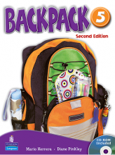 کتاب (Backpack 5 Student Book ( Work Book+CD