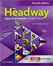 کتاب نیو هدوی آپر اینترمدیت ویرایش چهارم New Headway 4th Upper-Intermediate