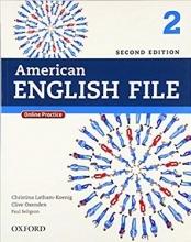 کتاب American English File 2 2nd SB+WB+DVD