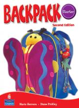 کتاب بک پک استارتر (Backpack Starter Student Book (Work Book+CD