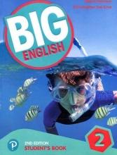 کتاب بیگ انگلیش 2 ویرایش دوم Big English 2 (2nd) SB+WB+CD