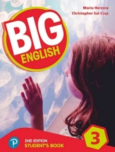کتاب بیگ انگلیش 3 ویرایش دوم Big English 3 (2nd) SB+WB+CD