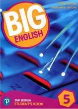 کتاب بیگ انگلیش 5 ویرایش دوم  Big English 5 (2nd) SB+WB+CD