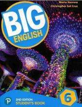 کتاب بیگ انگلیش 6 ویرایش دوم Big English 6 (2nd) SB+WB+CD