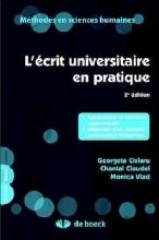کتاب  L'ecrit universitaire en pratique