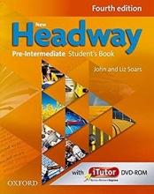 کتاب نیو هدوی پری اینترمدیت ویرایش چهارم New Headway 4th Pre-Intermediate Student Book