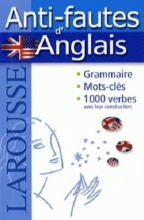 کتاب Larousse Anti-fautes d'Anglais