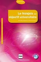 کتاب  Le français sur objectif universitaire