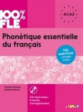 کتاب زبان Phonetique essentielle du français niv. A1 A2 + CD 100% FLE