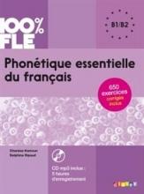 کتاب Phonetique essentielle du français niv. B1/B2 + CD 100% FLE